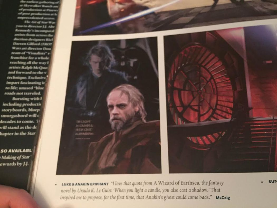 Anakin Skywalker's Scrapped Role in Star Wars: The Force Awakens Revealed