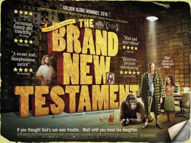 The brand new testament UK Poster