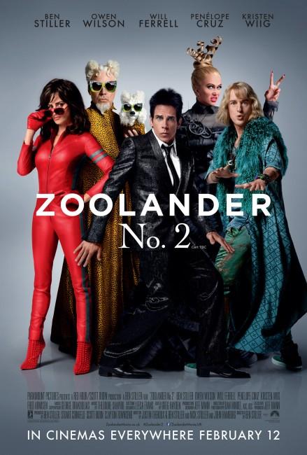 Zoolander 2 One Sheet