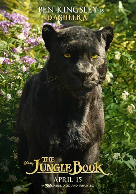 The Jungle Book Character Posters (4)