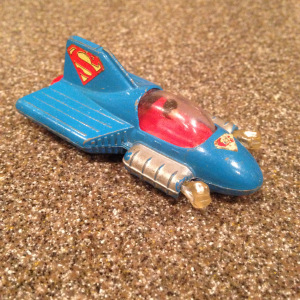 Superman Punch Car