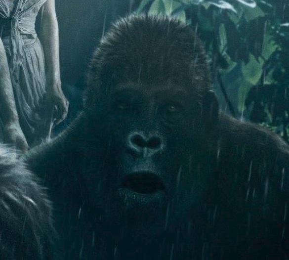 Tarzan Movie Poster ape