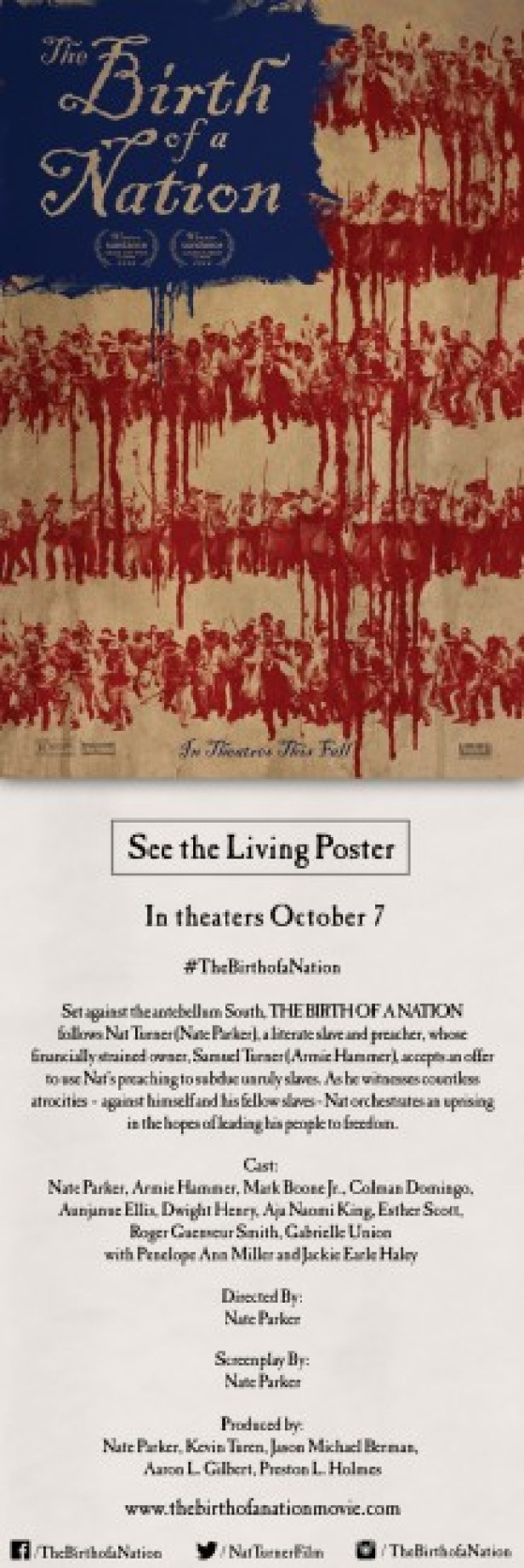 The Birth of a Nation Poster