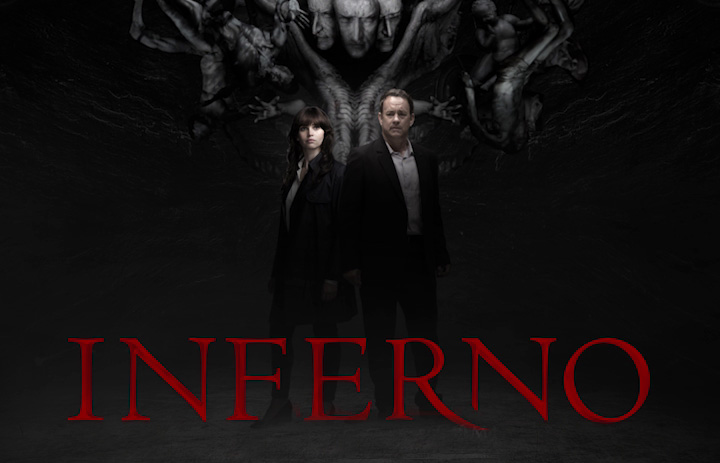 New International poster for Inferno with Tom Hanks and Felicity Jones