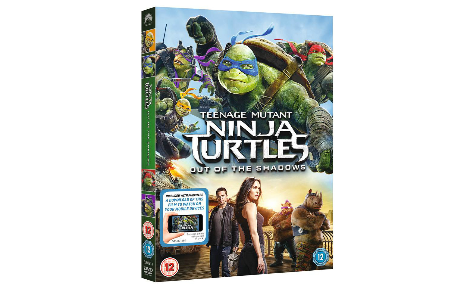 Win Teenage Mutant Ninja Turtles 2 Out Of The Shadows On Dvd Heyuguys
