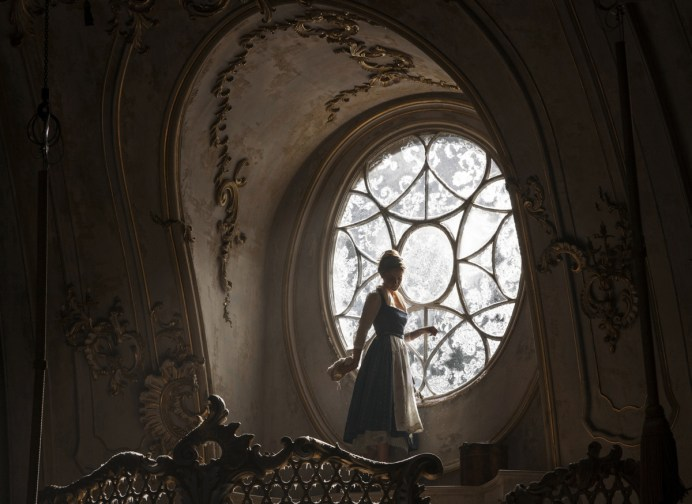Belle (Emma Watson) in the West Wing of the Beast's castle in Disney's BEAUTY AND THE BEAST, a live-action adaptation of the studio's animated classic directed by Bill Condon which brings the story and characters audiences know and love to life.