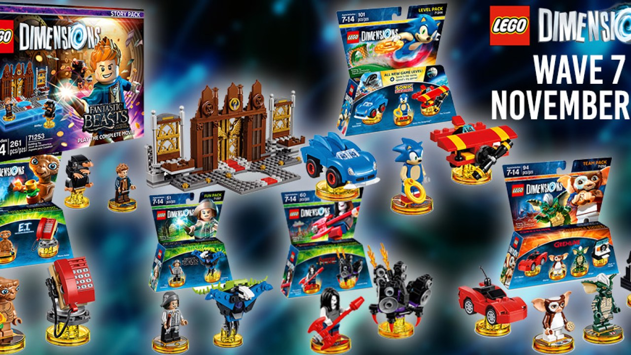 Lego Dimensions Wave 7 Launch Event with Arthur Parsons
