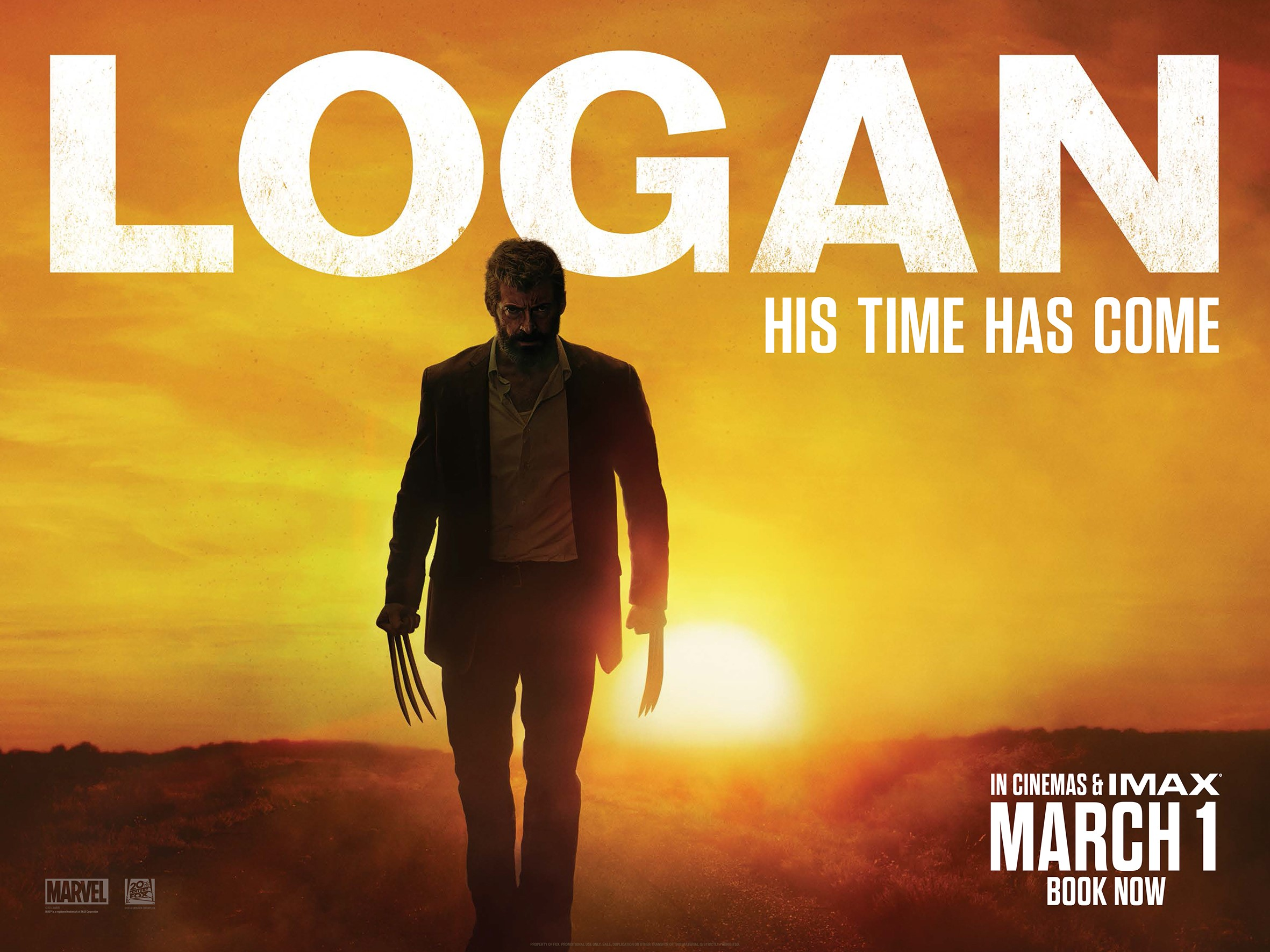 Image result for logan movie poster