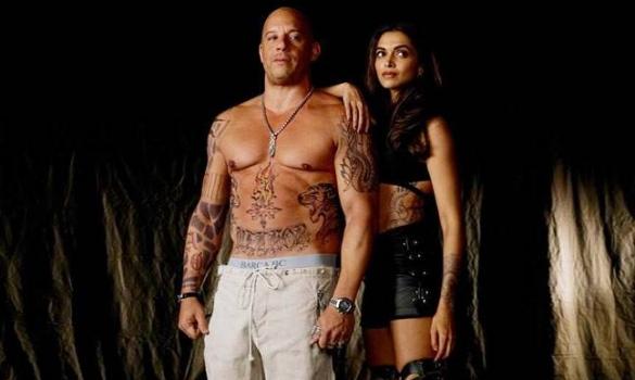 Deepika Padukone and Vin Diesel