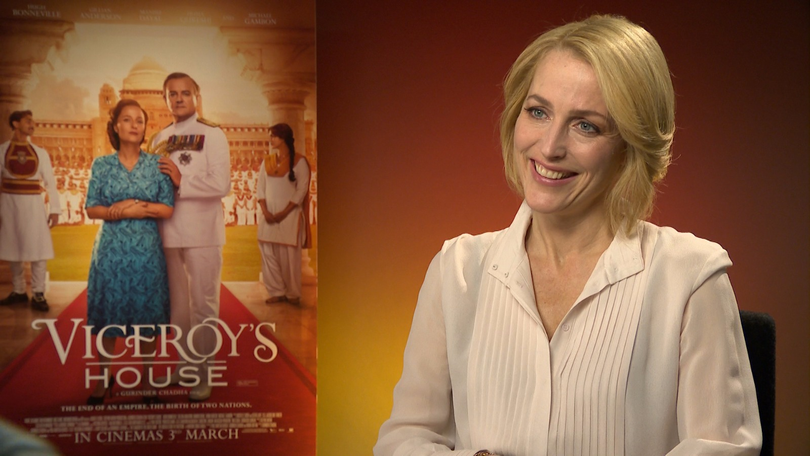 Gillian Anderson - Viceroy's House