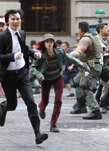 Okja Movie Image on set