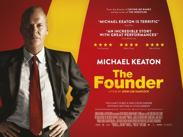 The Founder UK Movie Poster