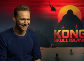 Tom Hiddleston - Kong: Skull Island - Interview