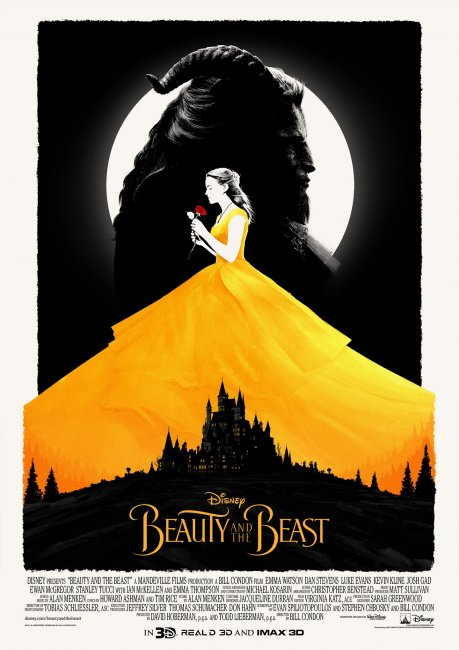 Beauty and the Beast Movie Poster by Matt Ferguson