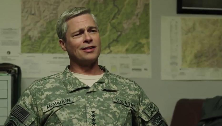 War Machine Trailer Brad Pitt Tilda Swinton Netflix