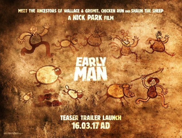 Early Man Teaser poster