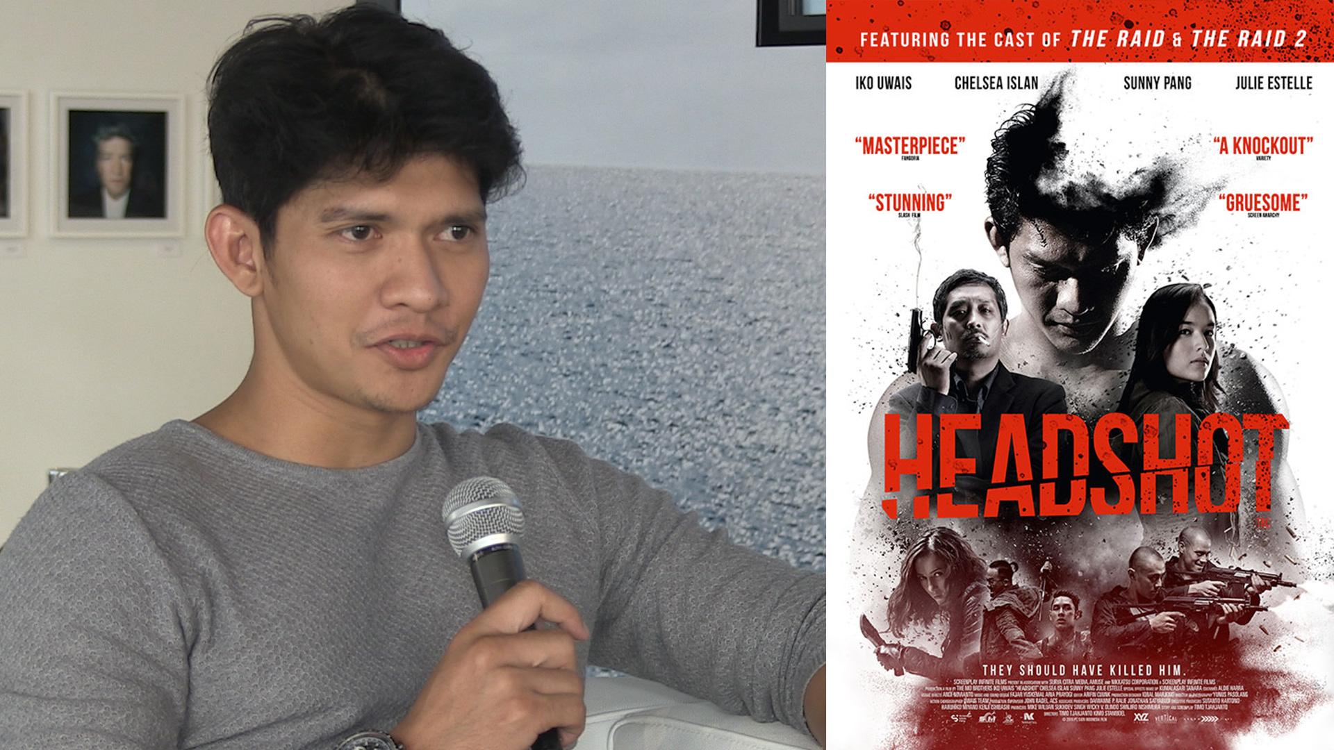 Iko Uwais Headshot Interview
