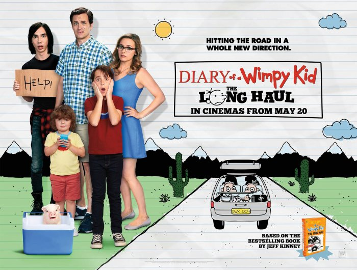 Image result for diary of a wimpy kid the long haul poster