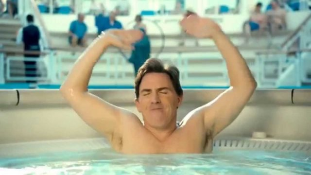 Rob Brydon Swimming with Men