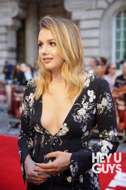 Hannah Murray - Detroit Premiere