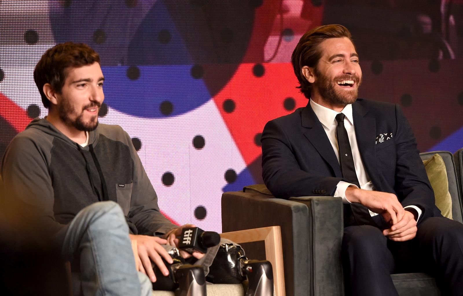 Jake Gyllenhaal Stronger Press Conference