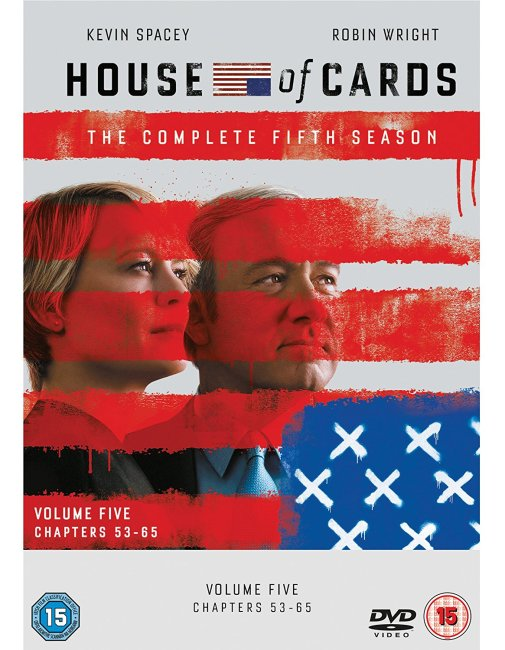 House of Cards season 5 dvd