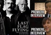 Last Flag Flying Premiere Interviews