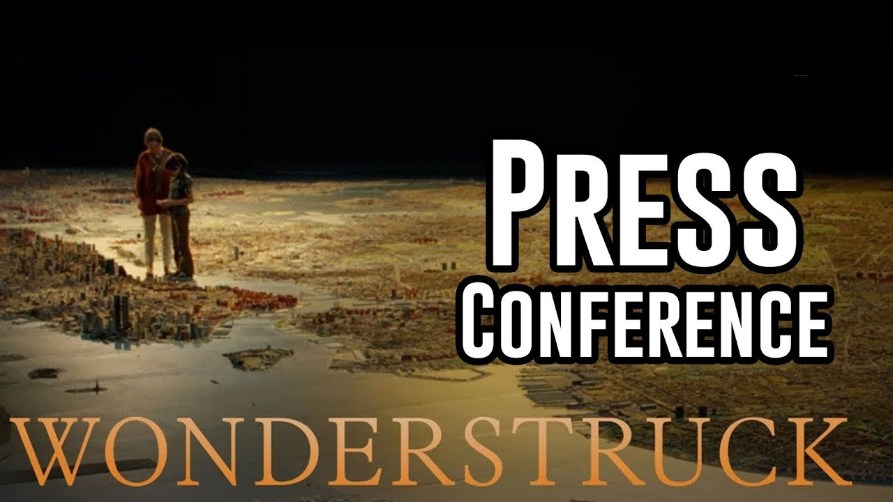 Wonderstruck Press Conference