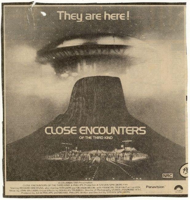 close encounters ad