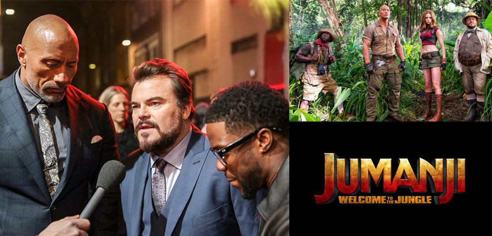Jumanji welcome to the jungle premiere