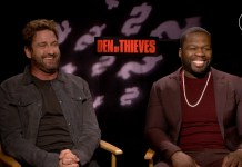 Gerard Butler & Fifty Cent - Den of Thieves Exclusive Interview