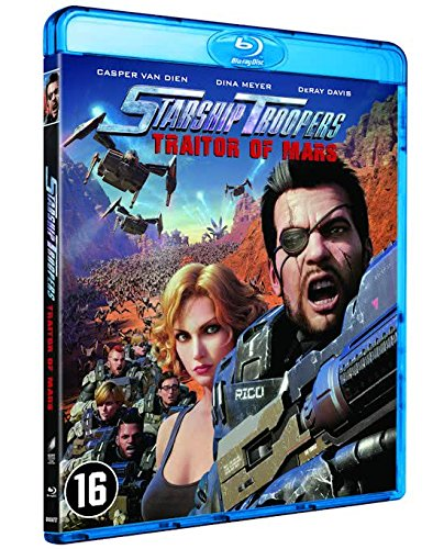 Starship troopers traitor of mars blu-ray