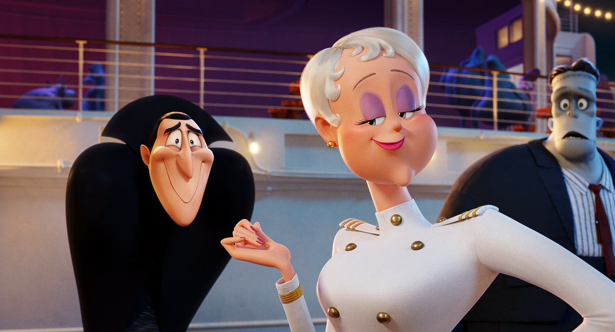 Hotel Transylvania characters take luxury monster cruise