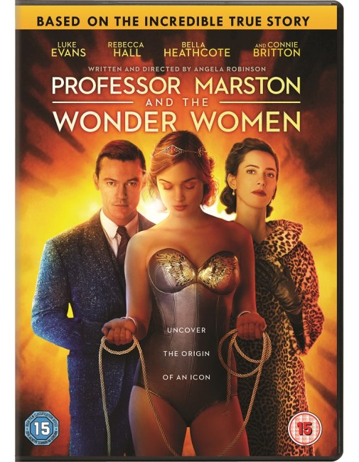 PROFESSOR MARSTON & THE WONDER WOMEN DVD
