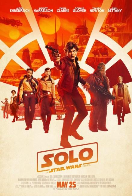 Solo movie poster