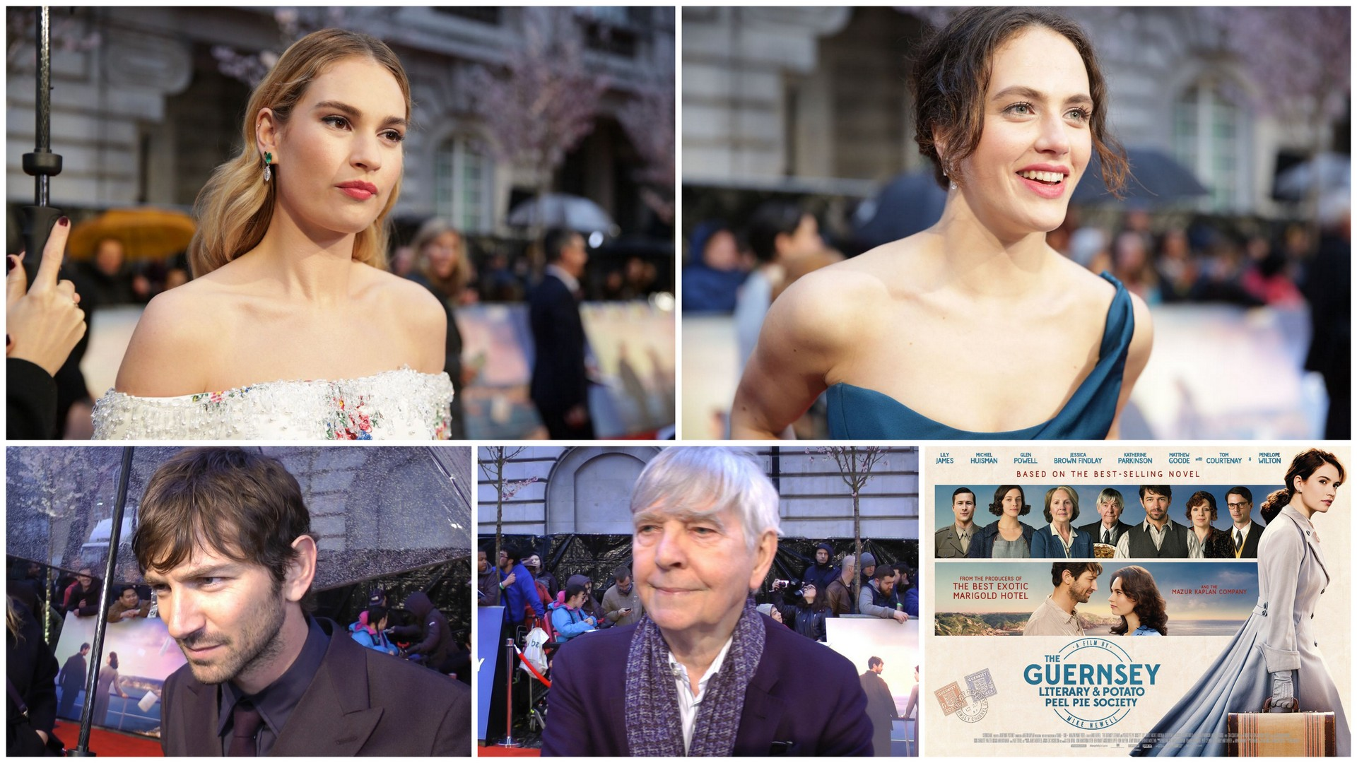The Guernsey Literary and Potato Peel Pie Society world premiere