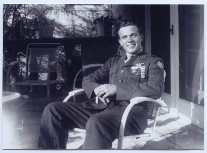 Scotty Bowers in uniform - Courtesy of Greenwich Entertainment