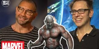 Dave Bautista on the aftermath of the James Gunn / Marvel firing saga