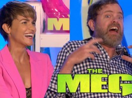the meg interview rainn wilson ruby rose