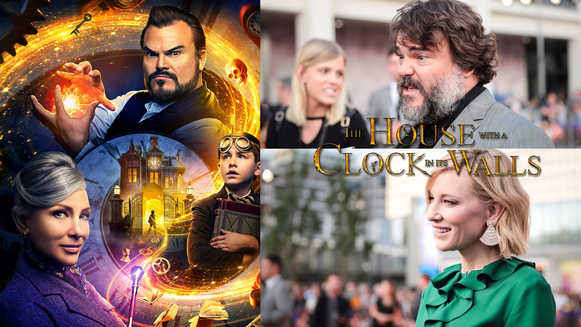 The House with a Clock In Its Walls PRemiere