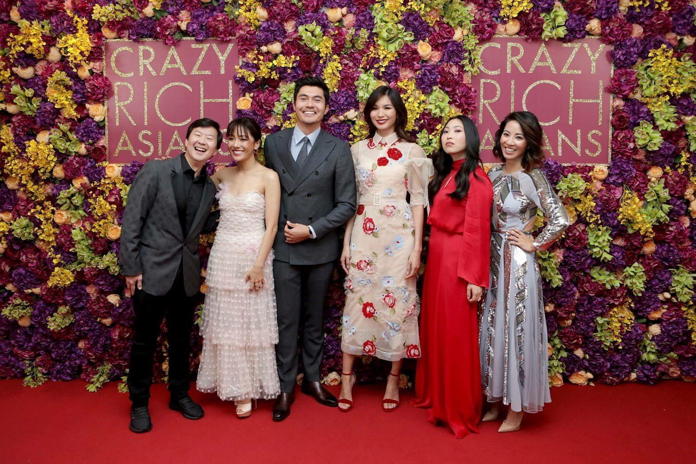 crazy rich asians uk premiere cast