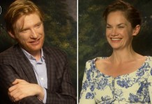 domhnall gleeson ruth wilson the little stranger interviews