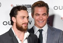 chris pine aaron taylor johnson outlaw king