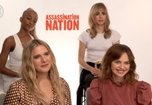 assassination nation cast interview