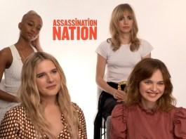 assassination nation cast interview