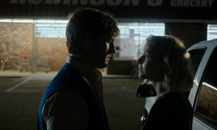 Jennifer Morrison and Alex Pettyfer in Back Roads