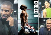 creed 2 premiere interviews