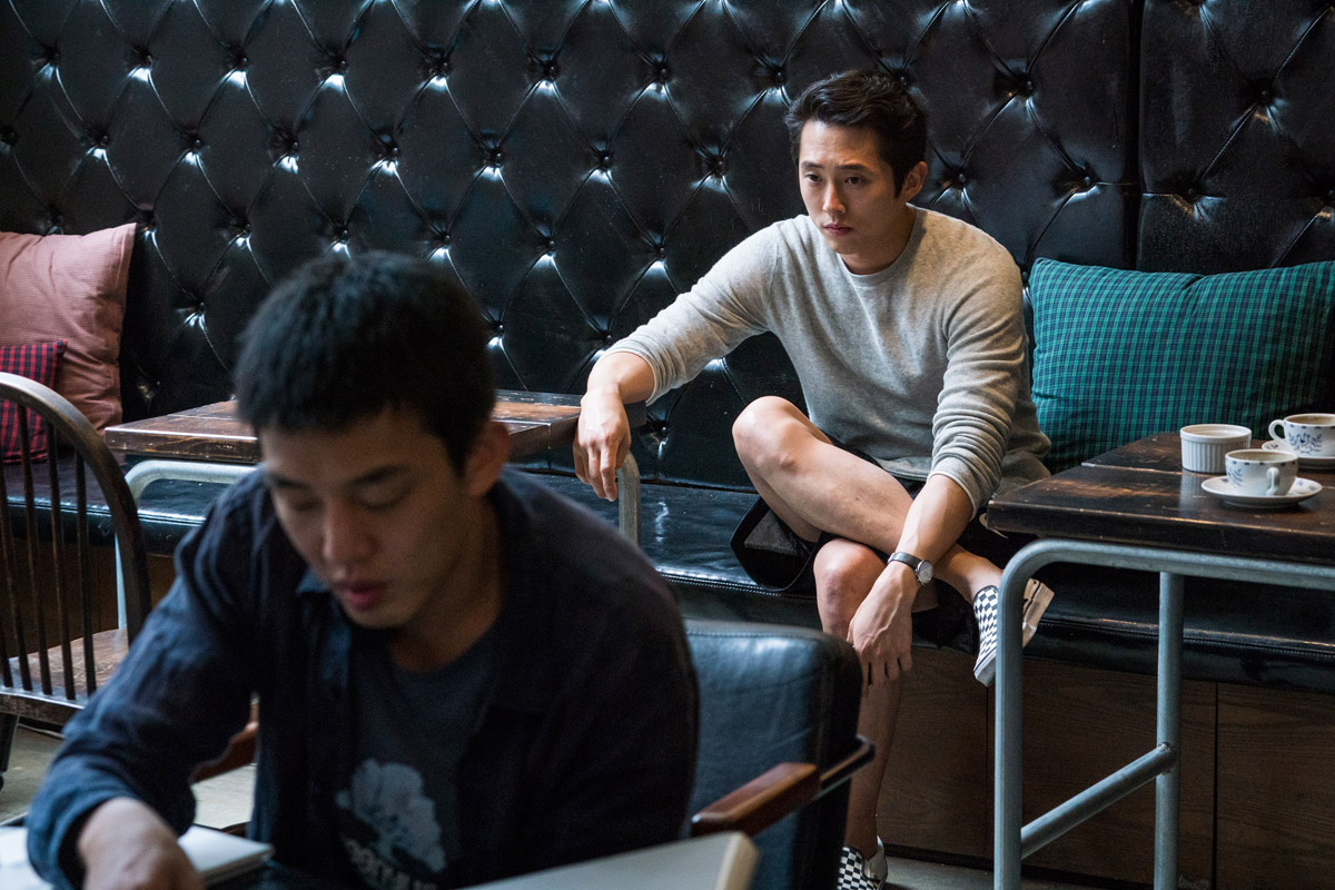 Interview: The Walking Dead's Steven Yeun answers Burning ...