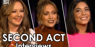 second act cast interview