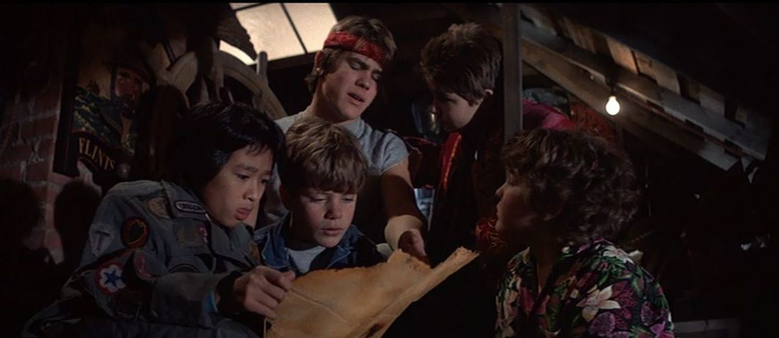 the goonies attic